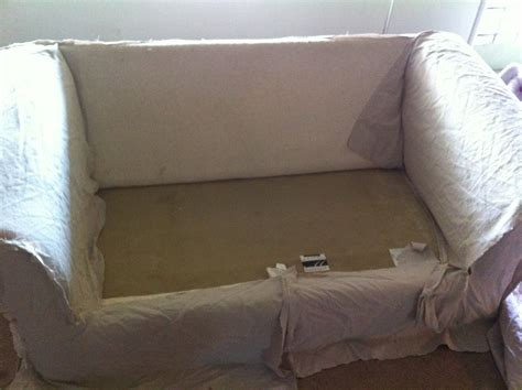 drop cloth couch cover new sofa dropcloth slipcover sectional sofas