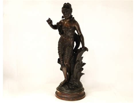 Pictures Of Painted Fireplaces by Bronze Sculpture By Auguste Moreau Art Nouveau 19th