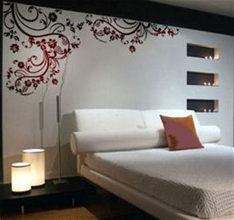 wall stickers for master bedrooms vinyl flower wall decals and stickers for the bedroom