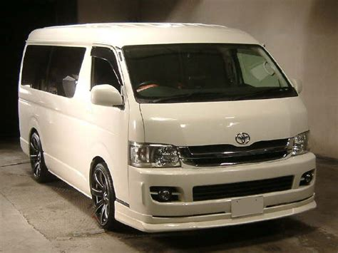 Used Toyota In Japan Used Toyota Hiace Available In Japanese Auction