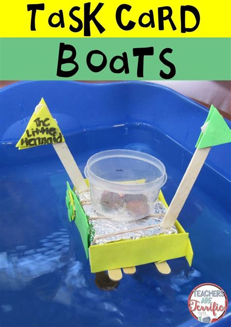 build a boat stem challenge 35 best boats in stem class images on pinterest stem