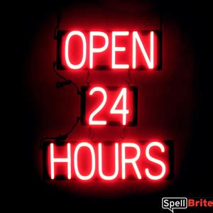tattoo shops open 24 hours open 24 hours signs spellbrite led better than neon