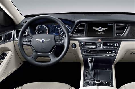 Hyundai Genesis Inside all new 2015 hyundai genesis sedan pictures and details