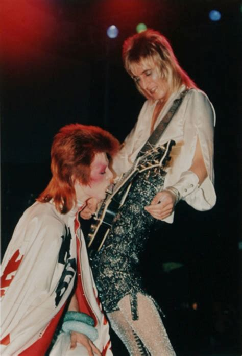 Bj 8873 Big Flower Top mick ronson the glam guitarist who rocked ziggy and the