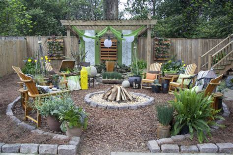 Rustic Backyard by 17 Wonderful Rustic Landscape Ideas To Turn Your Backyard