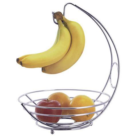 banana tree fruit bowl new chrome 2 in 1 banana hanger hook tree fruit stand