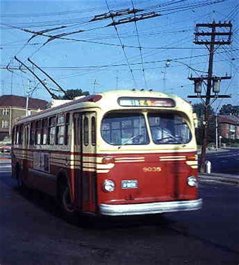 toronto trolleys and buses on the history of toronto s trolley buses 1922 1993