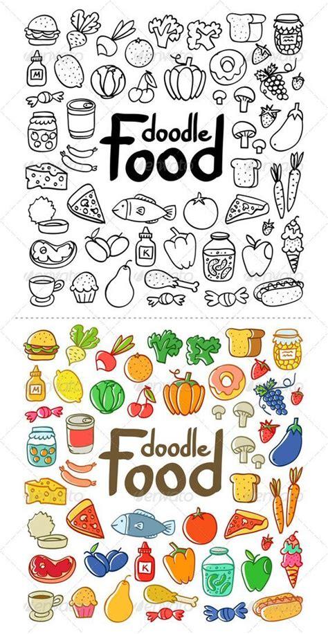 doodle for food food doodle doodles e comida