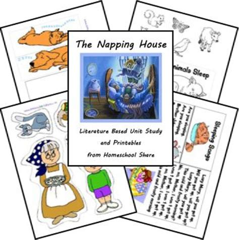 printable napping house 22 best the napping house images on pinterest preschool