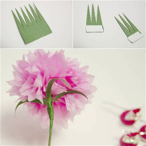 How To Make A Beautiful Paper - how to make beautiful crepe paper flowers and chocolates
