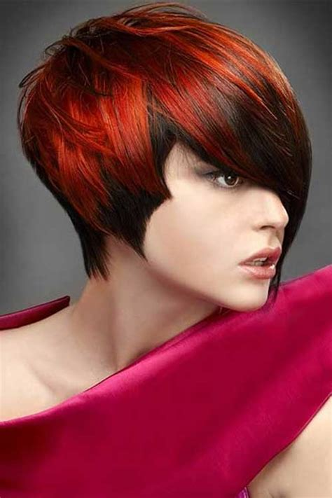 colorful short hair styles 20 short hair color for women short hairstyles 2017