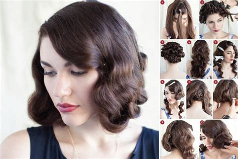 1950s step by step hairstyle step by step retro hairstyles guide to that vintage hair