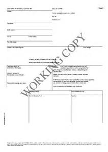 sle bill of lading template bill of lading form pdf