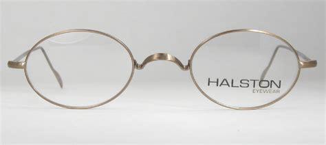 Frame Bridge Glasses optometrist attic gold wire oval saddle