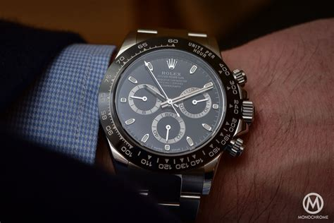 Rolex Daytona 116500LN in steel with Cerachrom black bezel   Hands on with live photos, specs