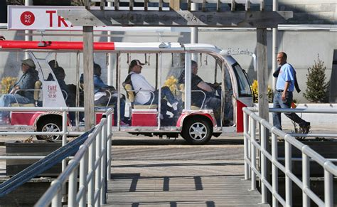 boardwalk tram fare increases approved by atlantic city council atlantic city