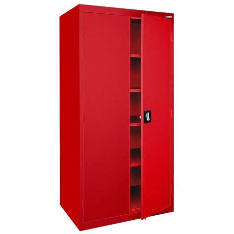 72 steel storage cabinet sandusky elite series 72 in h x 36 in w x 24 in d 5