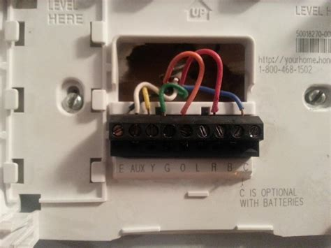 thermostat wiring diagram ac thermostat diagram