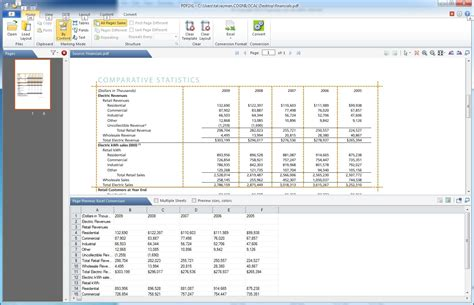 how to convert pdf table to excel sheet pdf2xl convert pdf to excel 5 0 10 acrobat to excel