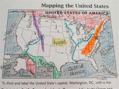 adventures   grade landforms waterways  north americausa social studies