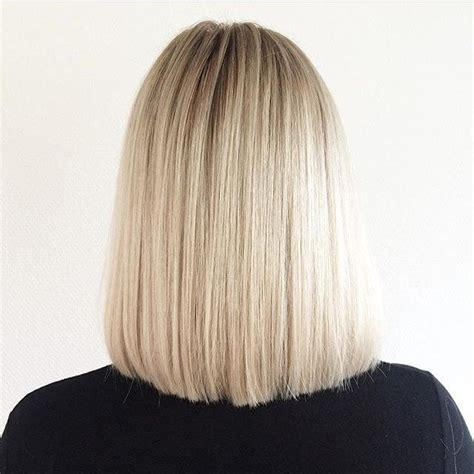 rear view of long blunt bob 50 amazing blunt bob hairstyles 2018 hottest mob lob