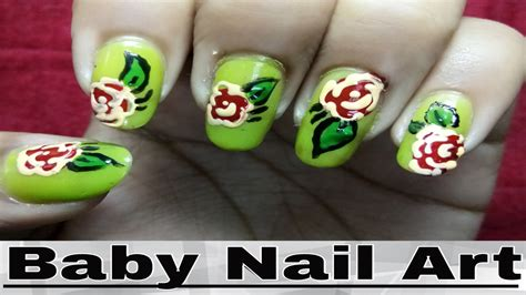 easy nail art at home youtube easy nail art designs step by step at home rose image