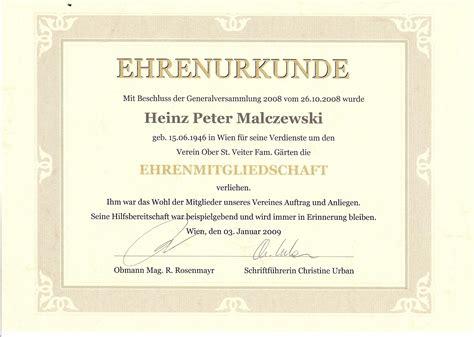 2009.01.31 Ehrenmitglied Heinz Malczewski