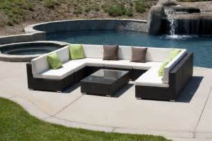 Patio Furniture Plus by Tuscany U Shaped Sectional Vancouver Sofa Company