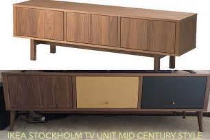 Midcentury Modern Couch - ikea stockholm mid century tv stand redo ikea hackers ikea hackers