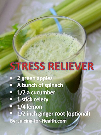 Stress Relief Detox Drink by Stress Relief Detox Juice Drinks Juice It Up