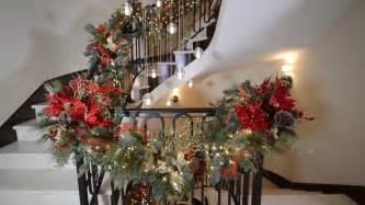 Stairs Banister Designs Christmas Decorations San Diego Interior Designer