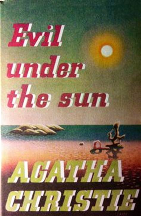 evil under the sun 0007274556 1000 images about books on agatha christie hercule poirot and miss marple