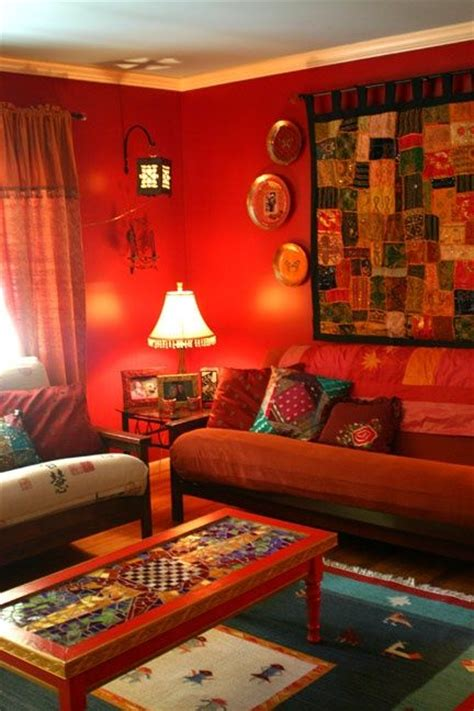 indian in room ethnic indian living room interiors boho chic design