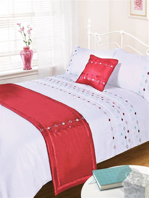 Bed In A Bag Quilt Sets 5pc Luxury Embroidered Duvet Cover Sets Bedding In A Bag Bed Quilt Cover Set Ebay
