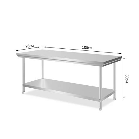 Kitchen Work Table Stainless 1500x750 Mm Ss 201 item specifications