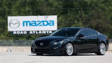 mazda rims mazda tuning mazda6 goes aggressive with vossen wheels