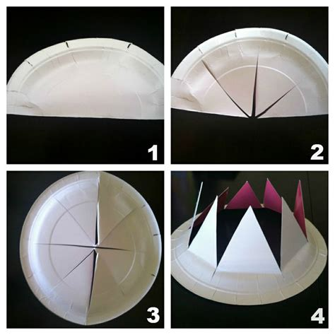 How To Make A Crown Out Of Paper For - paper plate crowns sunday school ideas