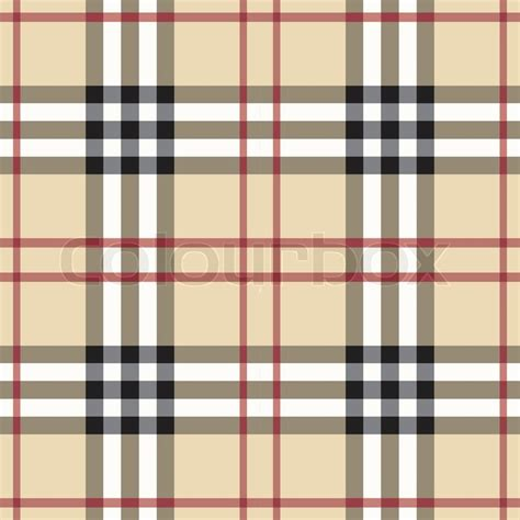 pattern burberry vector seamless tartan pattern stock vector colourbox