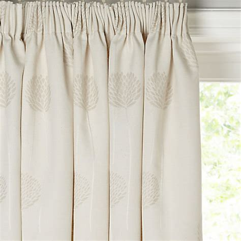 john lewis linen curtains buy john lewis nadia linen lined pencil pleat curtains