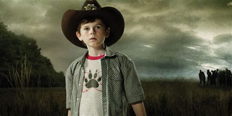 The Walking Dead Carl Grimes Poncho chandler riggs calls walking dead tv show quot great experience quot