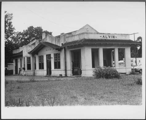 atchison topeka santa fe railway company depot alvin