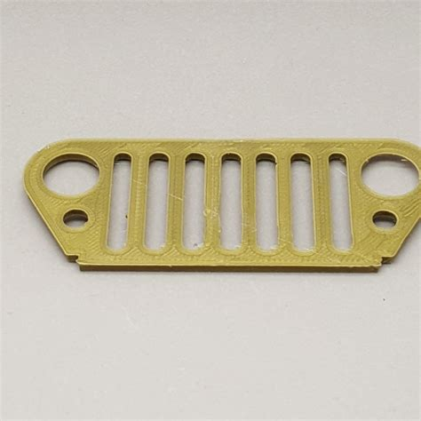 jeep grill icon 3d printable jeep wrangler grille by assi grossman