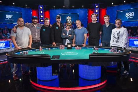 wsop event table 2017 wsop event november nine table day one recap