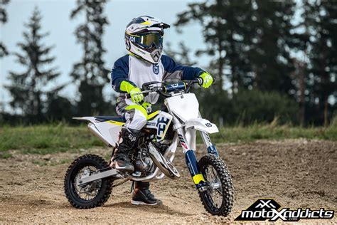 husqvarna motocross bikes motoxaddicts 2017 husqvarna 50cc and 65cc motocross line