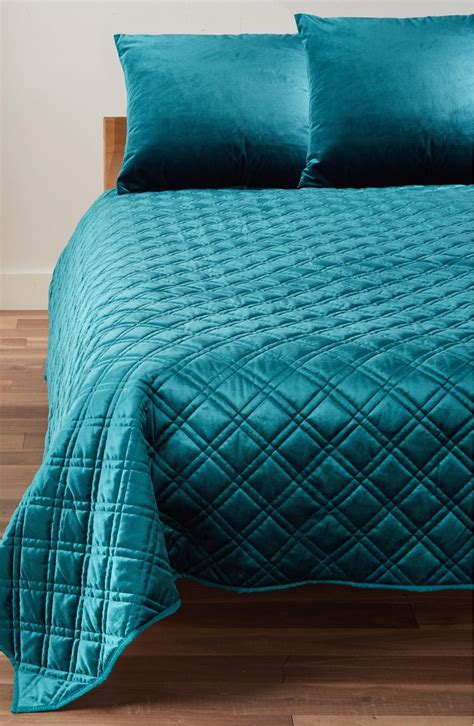 teal coverlet teal velvet quilt everything turquoise
