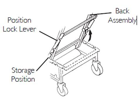 Invacare Geri Chair Parts invacare ih6074a geri chair 3 position geriatric