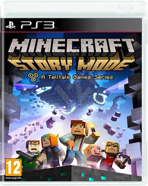 minecraft console ps3 minecraft story mode ps3 console alzashop
