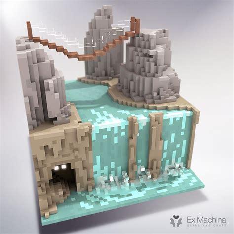 ex machina waterfall ボクセル のおすすめ画像 23 件 pinterest アイソメトリックアート ゲームアート ゲームデザイン