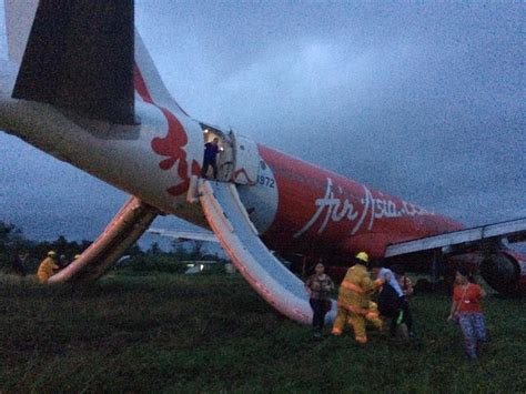 Airasia News | airasia passenger jet overshoots runway in philippine city