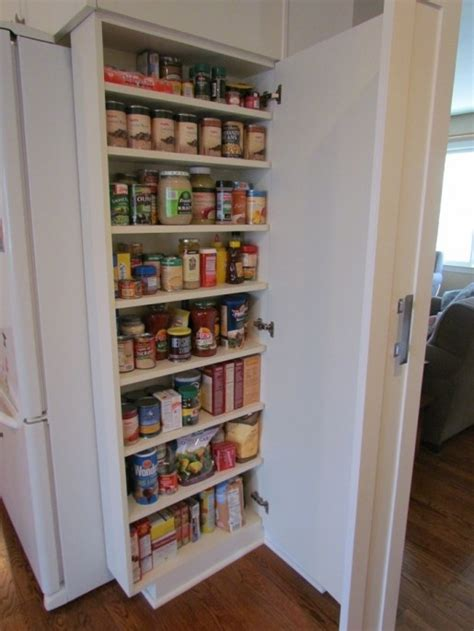 Kitchen Pantry Ideas Small Kitchens Small Pantry For A Small Kitchen For The Home Pinterest
